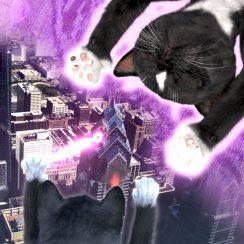 Felini' Catzilla Laser Paw Dreams